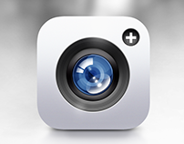 Camera IOS Icon Design