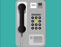Payphone - illustration