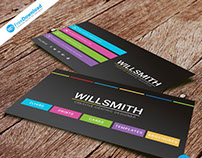Free Psd Business Card Design