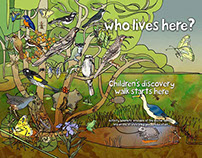 """""""...who lives here?"""" A children's nature walk."""