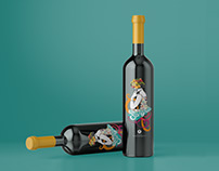 SANGRIA LABEL - PAPAGIANNOULIS WINERY