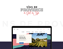Vins de Provence - Website
