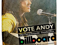 Andy Allo - Billboard Pre-Party Digital Campaign