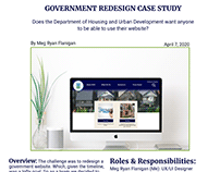 Government Redesign Project