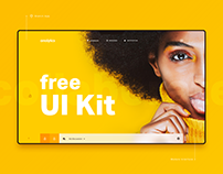 Research Application UI Kit - Free Download