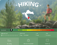 Momondo - Infographic - Croatia's Great Outdoor