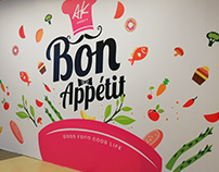 F&B Hoarding Graphics