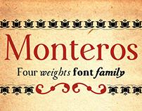 Monteros Typeface Family