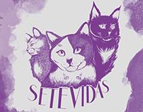 Setevidas - Coleção de estampas ilustradas