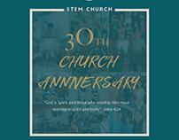 STEM 30th Church Anniversary Souvenir Brochure