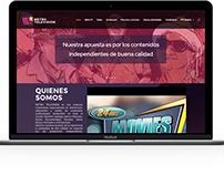 Metro TV Colombia website
