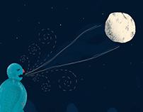 Illustration | Gritó al cielo y calló al vacío