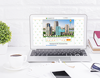 Дизайн сайта для жилого комплекса