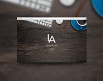LoreApp IT company website (landing page)