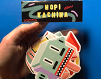 Hopi Kachina Stickers