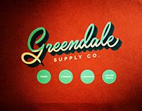 Greendale Supply Co. Shoemaker Brand Identity