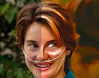 Hazel Retouching like Digital Art