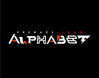 Premade Logo Alphabet