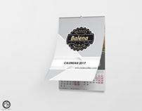 Calendar Design For Balena Tiles