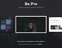 Be.Pro v1 Business Theme