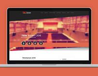 TEDx Sairam 2016 Webdesign