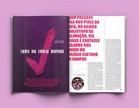 School Spreads: Galileu Mag