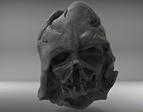 Darth Vader Melted Helmet for 3D print