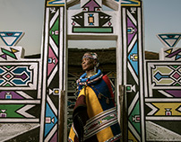Esther Mahlangu for BMW Art Cars 2016