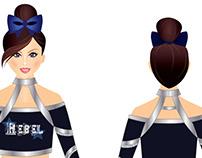 REBEL Cheerleader