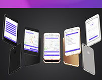 Domino taxi mobile application design