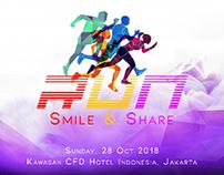 Print Ad : Run Smile & Share