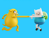 ADVENTURE TIME X STICKY MONSTER LAB