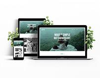 WIME Website Concept 2016