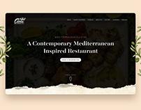 OJAX Mediterranean Grill Website Redesign
