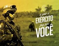 Campanha Exército Brasileiro