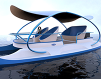 Electric Powered Leisure Boat