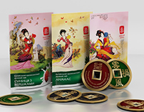 Doypack and gift coin, 8 types of tea, gift carton,