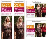 Penningtons 20% off New Arrivals Ad Campaign
