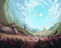 NAMROHJ- Backgrounds for Animation 2