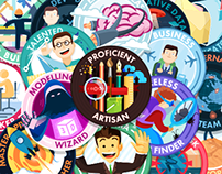 Creative Labs. Gamification Badges