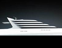 Futuristic Superyacht, L'AMAGE 190
