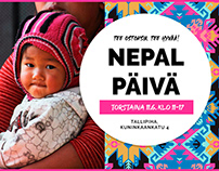 Nepal Päivä – Käsitöitä & Hyväntekeväisyyttä | Ad