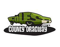 Coles County Dragway T-Shirt Design