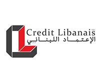 Credit Libanais - Rebranding
