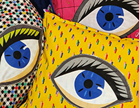 eye 💓 pillows