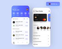 Mobile Banking App Concept - (Freebie)