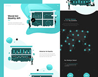 Wynd API Landing Page