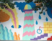 Carlos Casares mural