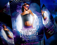 Dancing In The Moon Flyer Template