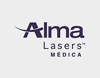 ALMA LÁSERS MÉDICA · Branding & Graphic Design